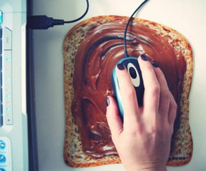 nutella and mouse image