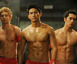 2PM, abs, and chansung image