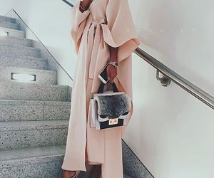 bag, shoes, and coat image