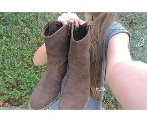 fall, autumn, and boots image