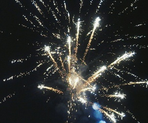 fireworks, holiday, and newyear image