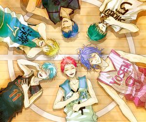 kuroko no basket, anime, and aomine daiki image