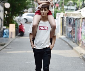couple, funny, and korean image