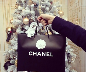 chanel, christmas, and gift image