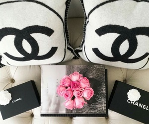 chanel and flowers image