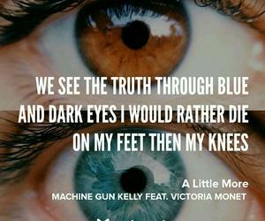 Lyrics, a little more, and machine gun kelly image