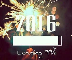 2016, new year, and 99% image