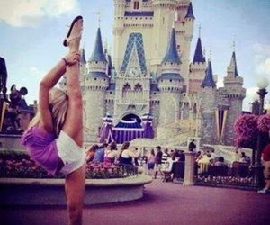disney, disneyland, and cheer image