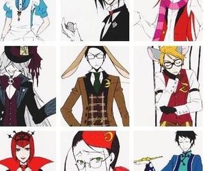 undertaker, ciel phantomhive, and anime image