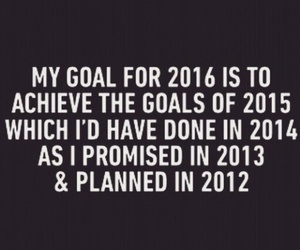 goals, 2016, and new year image