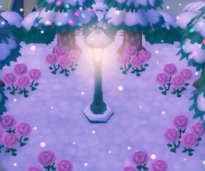 animal crossing, rose, and animal crossing new leaf image