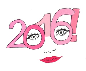 2016 and pink image
