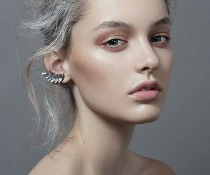 beautiful, beauty, and earrings image