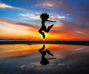 beach, beautiful, and energy image
