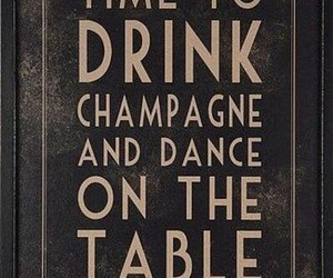 champagne, drink, and dance image