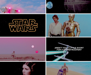 star wars and force awakens image