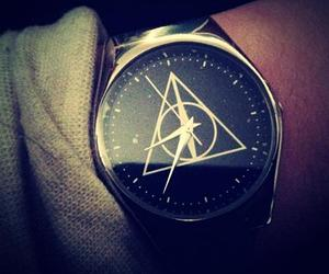 harry potter, watch, and deathly hallows image
