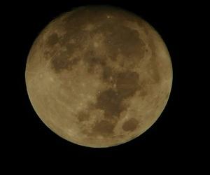 luna, Noche, and hermosa image