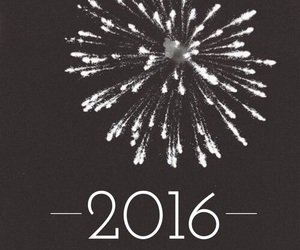 2016, new year, and fireworks image