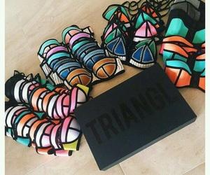 summer, triangl, and bikini image