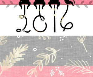 2016, background, and happy new year image