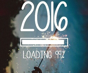 2016, new year, and loading image