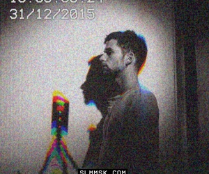 coldplay, glitch, and guy berryman image