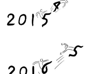 2016, 2015, and new year image