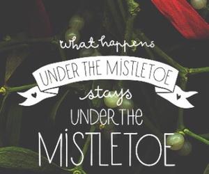 mistletoe, christmas, and holiday image