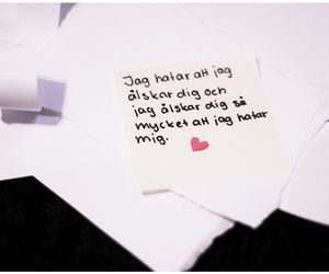 heart, swedish, and text image