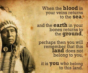native american and quotes image