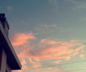 cotton candy, pink, and skies image