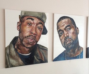 art, kanye, and aesthetic image
