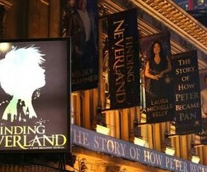 broadway, finding neverland, and musical image
