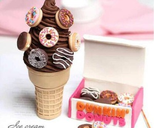 donuts, food, and ice cream image
