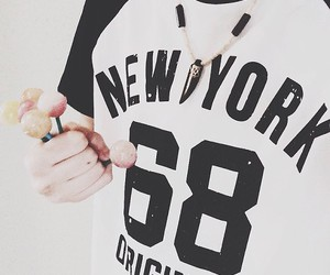 black, chupa chups, and newyork image