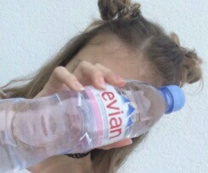evian, tumblr, and grunge image