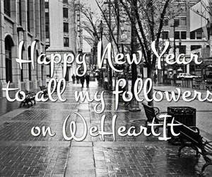 2016, new year, and followers image