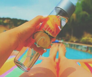 tumblr, summer, and water image