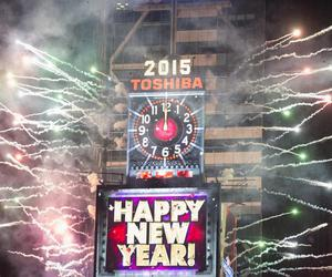 new year, new york, and 2015 image