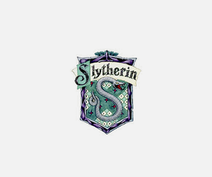 header, slytherin, and harry potter image