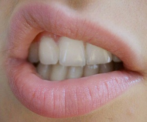 lips, pink, and grunge image