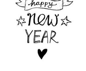 2016, n, and happy new years image