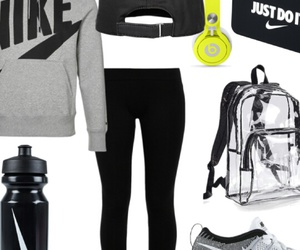 hoodie, nike, and outfit image
