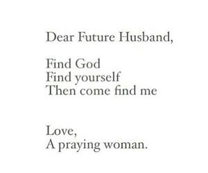 future, god, and husband image