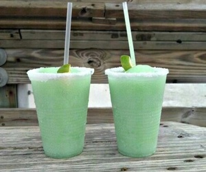 drink, summer, and green image