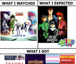 hunter x hunter and yu yu hakusho image