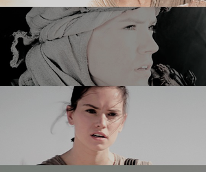 star wars, the force awakens, and rey image