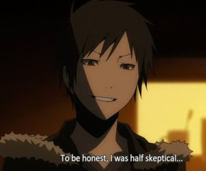 anime and durarara image