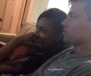 couple, cute, and interracial image
